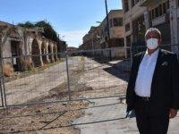 Gazimağusa Belediye Başkanı Arter,  Maraş'taki Pilot Bölgeye Açılan Kapıda İncelemelerde Bulundu