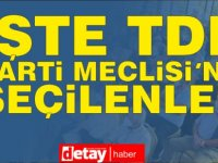 TDP 7. Kurultayı.. İşte bölge bölge TDP Parti Meclisi'ne seçilenler