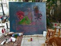 """Aşık Mene'nin """"Varoluş"""" adlı kişisel yağlı boya resim sergisi,açılıyor"""
