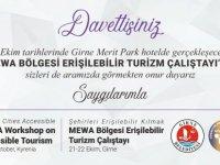 MEWA Bölgesi Erişilebilir Turizm Çalıştayı, Girne'de yapılacak