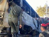 Suriye'de askeri araca bombalı saldırı