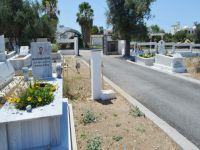 Karaoğlanoğlu Yeni Mezarlık, Çevre ve Peyzaj Projesi tamamlandı