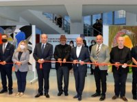 Cumhurbaşkanı Tatar, Ressam Aşık Mene'nin sergisinin açılışını gerçekleştirdi