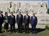 Cumhurbaşkanı Tatar Ankara Türk Tarih Müzesi ve Parkı'nı Ziyaret Etti... Tatar Denktaş Anıtı'nın Açılışını Yaptı