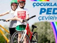 Çocuklar İçin Pedal Çeviriyoruz