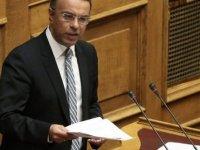 Yunanistan Maliye Bakanı Güney Kıbrıs'ta Temaslarda Bulundu
