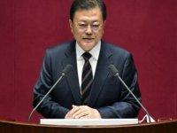 Güney Kore Devlet Başkanı'ndan Kuzey Kore ile diyalog mesajı