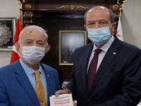 Cumhurbaşkanı  Tatar, Orhan Kilercioğlu'nu kabul etti