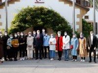 Cumhurbaşkanı Ersin Tatar, Genç Diplomasi Akademisi Heyetini Kabul Etti