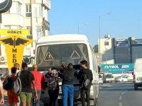 Bu kez Minibüs yolcuları değil yolcular minibüsü götürdü!