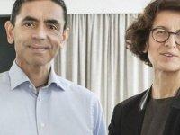 Özlem Türeci ve Uğur Şahin: AIDS'e karşı aşı geliştirmeye çalışıyoruz