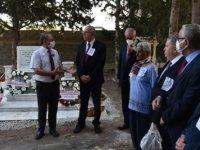 Ziya Rızkı ölümünün 27. yıl dönümünde, Girne'de iki ayrı törenle anıldı
