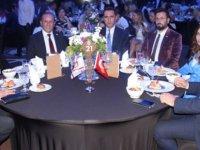 Antalya Turizm Fuarı etkinlikleri kapsamında Kıbrıs Gecesi ve Gala yemeği düzenlendi