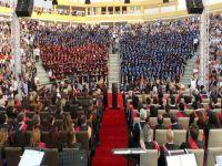 GAÜ'den muhteşem mezuniyet töreni
