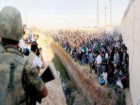 Türkiye sınırında 100 bin kişi bekliyor