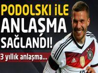 Podolski ile anlaşma sağlandı!