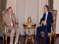 Cumhurbaşkanı Mustafa Akıncı, Rusya Büyükelçisi'ni kabul etti