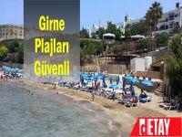 Girne'deki deniz suyu temiz