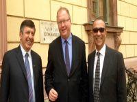 Çözüme ve ekonomik işbirliğine destek, adaya yatırım