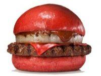 Bu kez de kırmızı hamburger çıktı