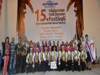 İGEM, Uluslararası Halk Dansları Festivali'ne katıldı