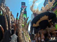 Times Meydanı'nda 1 ton fil dişi imha edildi