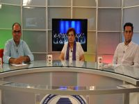 """DAÜ """"Ada Işığı"""" TV Programında Koro Kültürü ve Koro Müziği konuşuldu"""