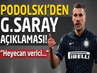 Podolski'den Galatasaray açıklaması!