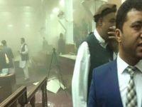 Parlamento binasına bombalı saldırı! (Videolu)
