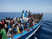 Libya'da göçmen kurtarma operasyonu