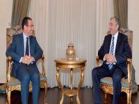 Cumhurbaşkanı Akıncı, İsrail'in Lefkoşa Büyükelçisini kabul etti