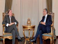 Cumhurbaşkanı Akıncı, Brezilya'nın Lefkoşa Büyükelçisini kabul etti