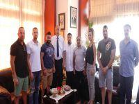 Güngördü, Ozanköy Spor Kulübü Yeni Yönetimini kabul etti