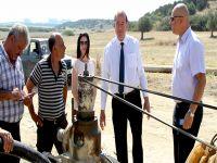 Mehmetçik ve Büyükkonuk Belediyelerine su müjdesi!