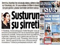 Star'dan Yüksekdağ'a: Susturun şu şirreti!