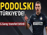 Lukas Podolski Türkiye'de!