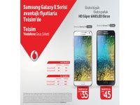 Samsung Galaxy E Serisi en avantajlı fiyatlarla Telsim'de satışa sunuldu