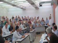İzcan Baf'taki etkinlikte barış mesajları verdi