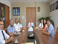 Yeni DAÜ-KOOP Yönetim Kurulu DAÜ Rektörü'nü ziyaret etti