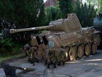 Emekli Alman'ın evinden tank çıktı