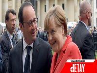 Merkel ve Hollande'den liderlere kriz toplantısı