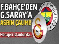 Fenerbahçe'den Galatasaray'a asrın çalımı!