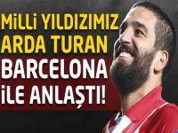 Arda Turan Barcelona ile anlaştı!