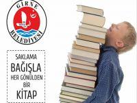 Girne Belediyesinden kitap toplama kampanyası