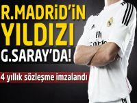 Real Madrid'in yıldızı Galatasaray'da!