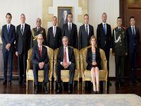 Yeni Büyükelçi Kanbay, Cumhurbaşkanı Akıncı'ya güven mektubunu sundu