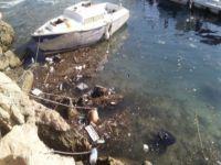 Girne limanına mazot boşalttılar