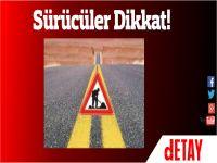 Karpaz'da sürücülerin dikkatine! Bu yollar kapatıldı!