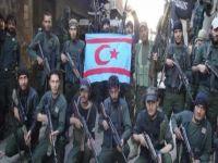 """KKTC Bayrağı, 'Birleşik Türkmen Ordusu""""nun bayrağı oldu!"""