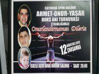 Ahmet – Onur - Yaşar Boks Anı Turnuvası düzenleniyor